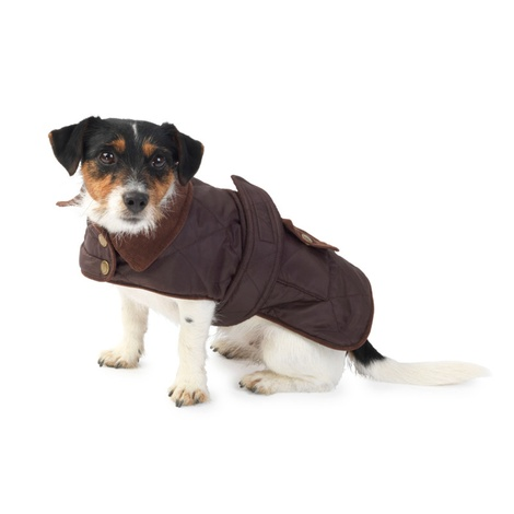 Quilted Country Dog Coat – Coco