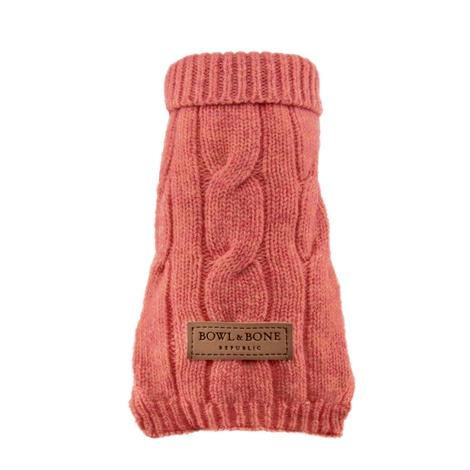 Aspen Dog Pullover - Pink