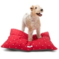 Cranberry Star Cotton Pillow Bed 2