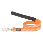Red Dingo - Ziggy Reflective Dog Lead – Orange