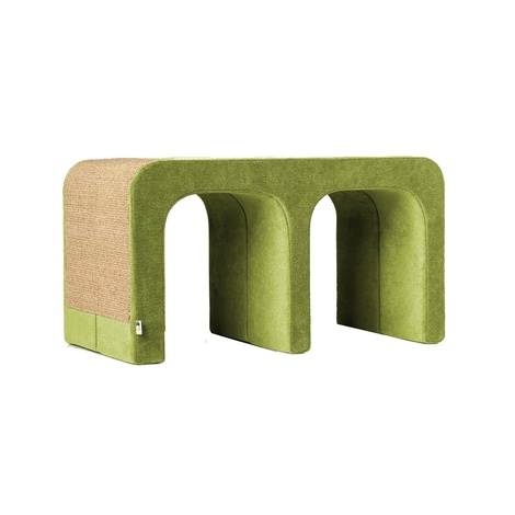 Scratching Post - Letter M - Green
