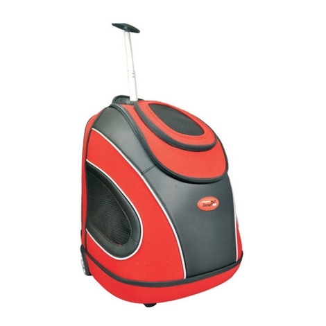 Mobile Pet Carrier in Red