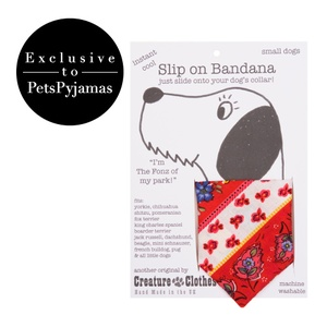 Multi Patterned Slip On Dog Bandana