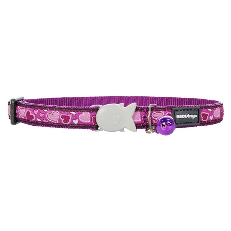 Breezy Love Purple Cat Collar