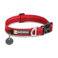 Hoopie Dog Collar - Red Currant