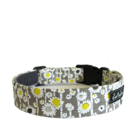 Salt Dog Studio Daisy Chain Dog Collar 2