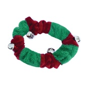 Doggy Things - Doggy Things Plush Christmas Collar with Bells