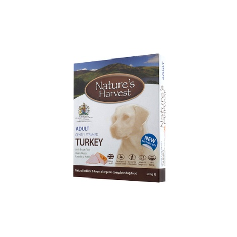 10 x Complete Wet Dog Food - Adult Turkey & Brown Rice