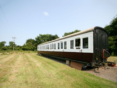 Railway Carriage Two, Suffolk, Brockford Green