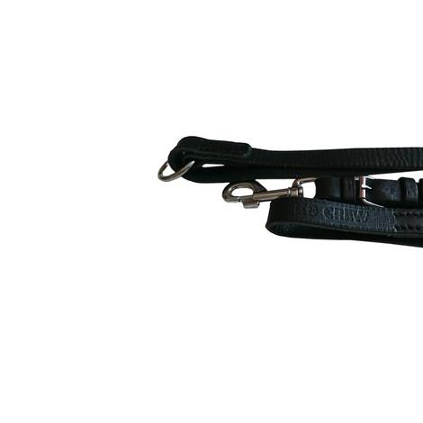 K9CREW Leather Handler Lead - Adjustable 2