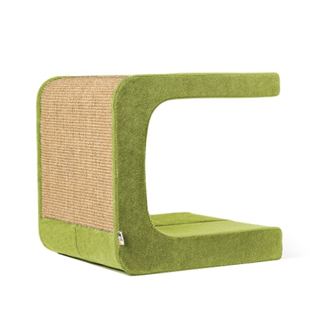 Scratching Post - Letter C - Green