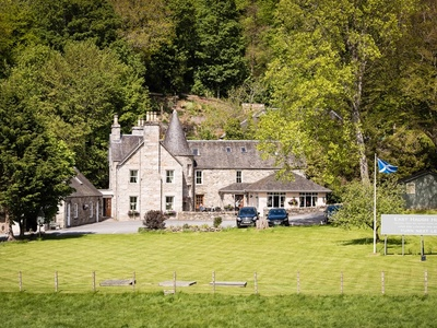 East Haugh House Hotel, Perthshire, Pitlochry