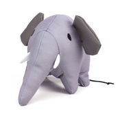Beco Pets - Estella the Elephant Squeaky Plush Dog Toy