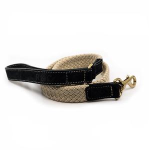 Rope lead (flat) - Black