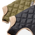 Quilted Dog Coat - Forest Green 3