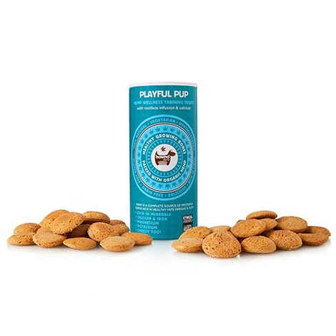 HOWND Playful Pup Hemp Wellness Training Treats 130g