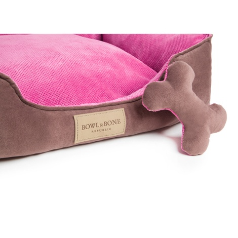 Classic Dog Bed - Pink 2