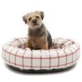 Nottingham Check Donut Bed  3