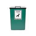 Dog Waste Bin – Green