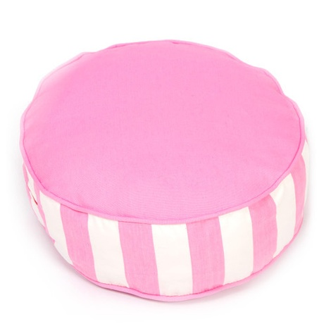 Bon Bon Soft Dog Bed - Pink Stripe 2