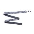 Black Houndstooth Dog Lead