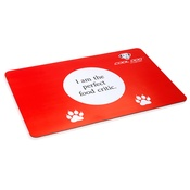 Cool Dog Club - Cool Dog Water & Food Dog Bowl Placemat