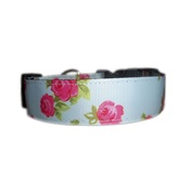 Zukie Style - Vintage English Rose Dog Collar
