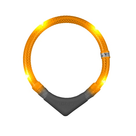 Leuchtie Plus LED Collar - Orange