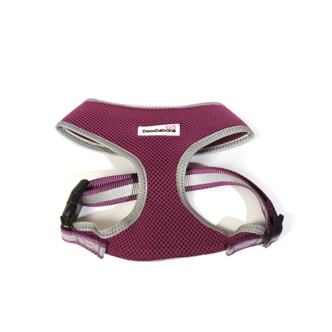Reflective Airmesh Dog Harness – Purple 3