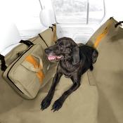 Kurgo - Wander Hammock Car Seat Cover - Khaki
