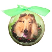 NFP - Collie Christmas Bauble