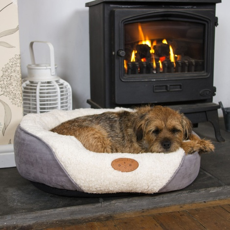Luxury Cosy Dog Bed  4