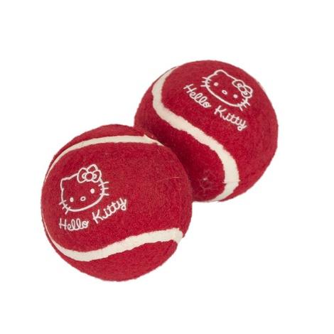 Hello Kitty Tennis Balls x 6