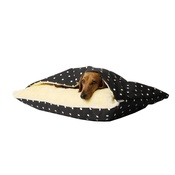 Charley Chau - Snuggle Bed - Dotty Charcoal