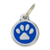 Tagiffany - My Sweetie Blue Paw Pet ID Tag