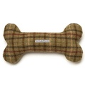 Balmoral Tweed Bone Squeaky Toy
