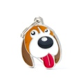 Beagle Engraved ID Tag