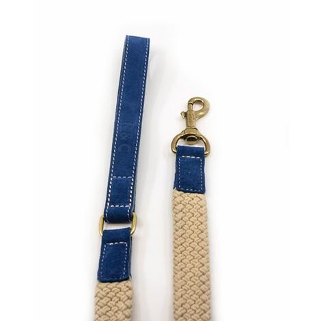 Rope lead (flat) - Blue 3