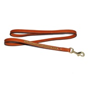 Pear Tannery - Clincher Leather Dog Lead – London Tan