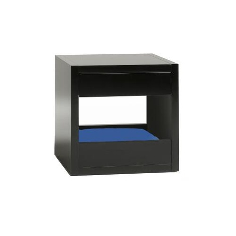 Bloq Pet Bed & Side Table - Black 9