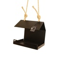 Bauhaus Bird Feeder - Black 4