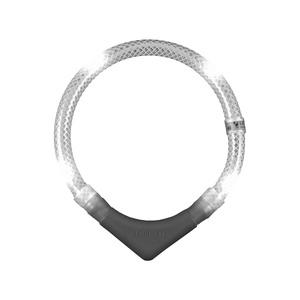 Leuchtie Plus LED Collar - White