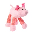 Oinking Pig Corduroy Dog Toy