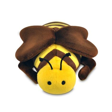 Burt the Bee Plush Dog Toy 2