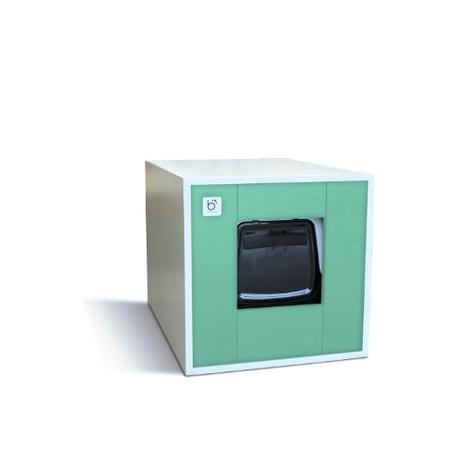 Cat Toilet - White & Green