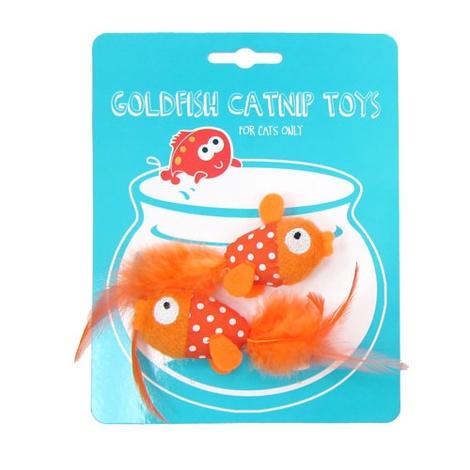 Goldfish Catnip Toys