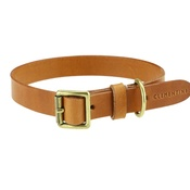 Clementine est. Dogs - Flat Beaton Collar - Tan