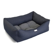Pet Pooch Boutique - Two Tone Denim Dog Bed