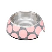 FuzzYard - Bubblelicious Bowl - Pink & Grey