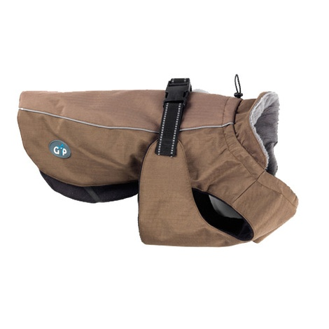 Outdoor Active Dog Jacket - Brown